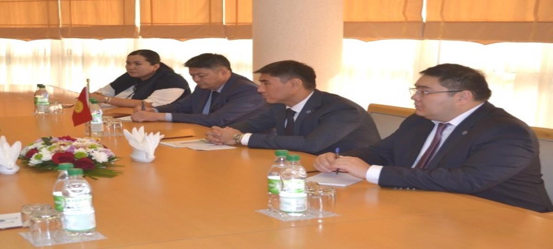 В МИД Туркменистана обсуждены туркмено-кыргызские двусторонние отношения