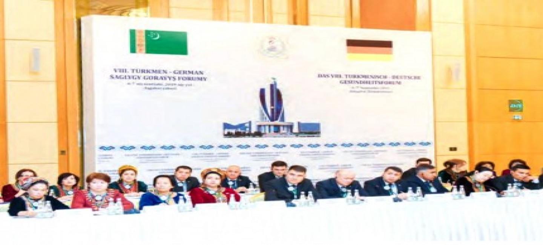 The next meeting of Turkmen-German Health Forum is being held in Turkmenistan