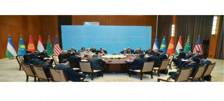 Министр иностранных дел Туркменистана принял участие в министерской встрече в формате «С5+1» в Ташкенте