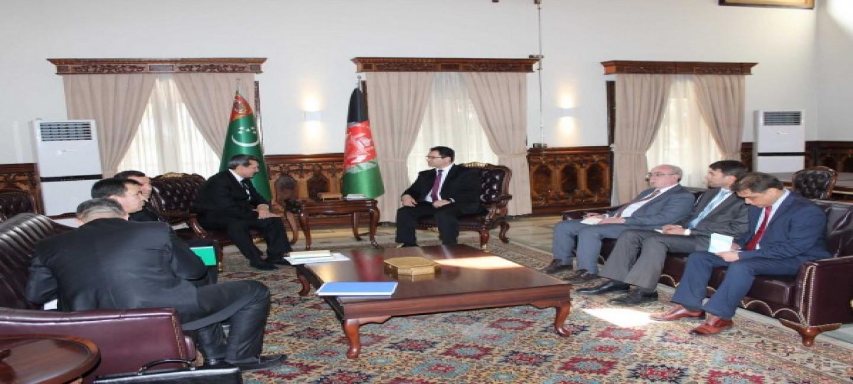 В Кабуле обсуждены вопросы туркмено-афганского сотрудничества