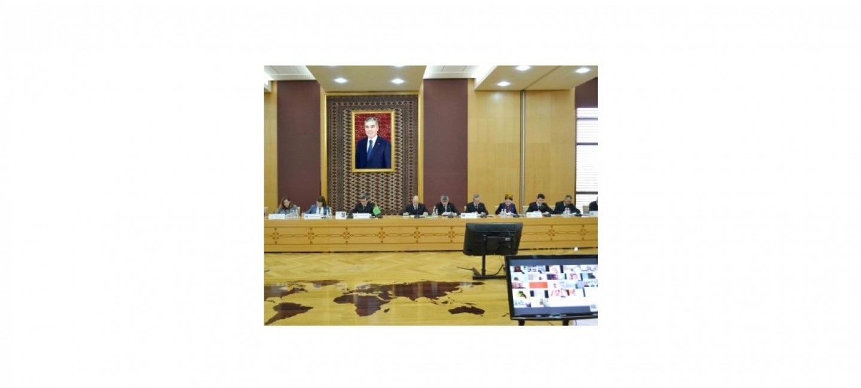 DIM-iň binasynda Türkmenistanyň saglygy goraýyş ulgamyndaky halkara başlangyçlarynyň amala aşyrylmagyna bagyşlanan brifing geçirildi