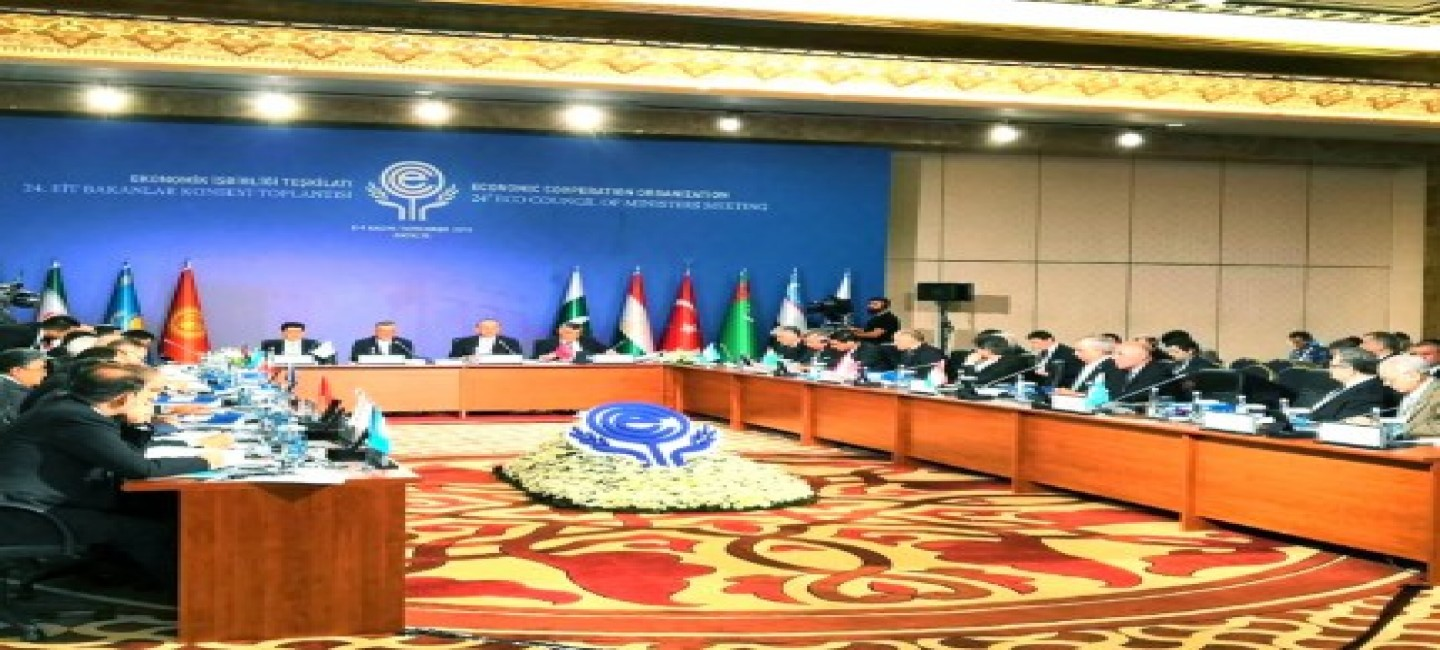 Delegation of Turkmenistan participated to the session of the Foreign Ministers Council of ECO
