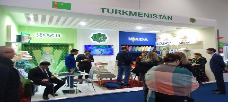 Turkmen delegation participates to the Exhibition «Heimtextil 2020»