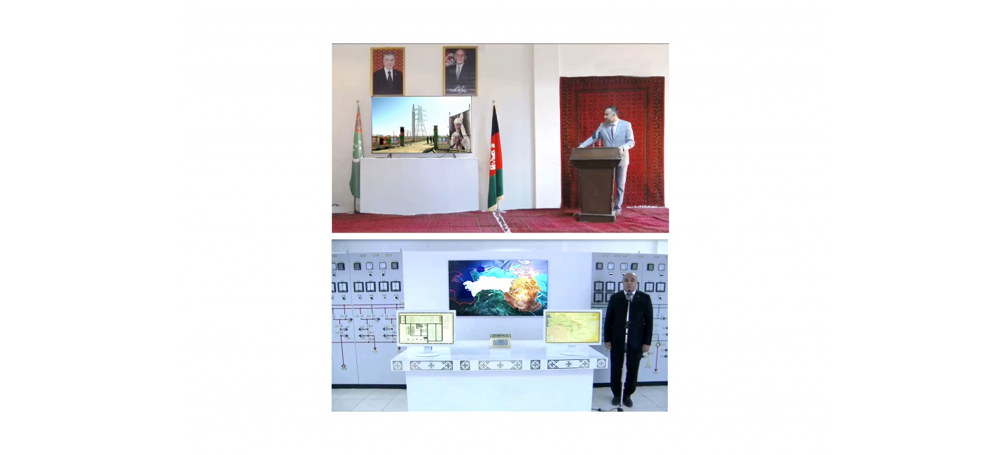 The grand commissioning of the power transmission line along Kerki (Turkmenistan) – Sheberghan (Afghanistan) route