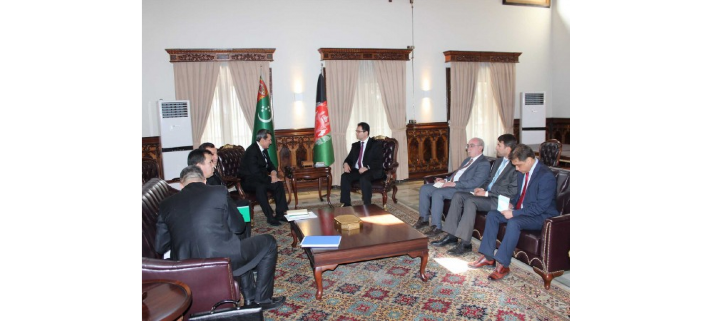 Turkmen-Afghan cooperation issues discussed in Kabul