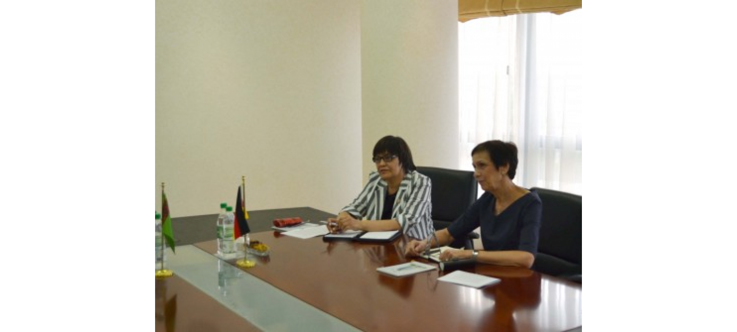FAREWELL MEETING WITH THE AMBASSADOR OF GERMANY IN TURKMENISTAN