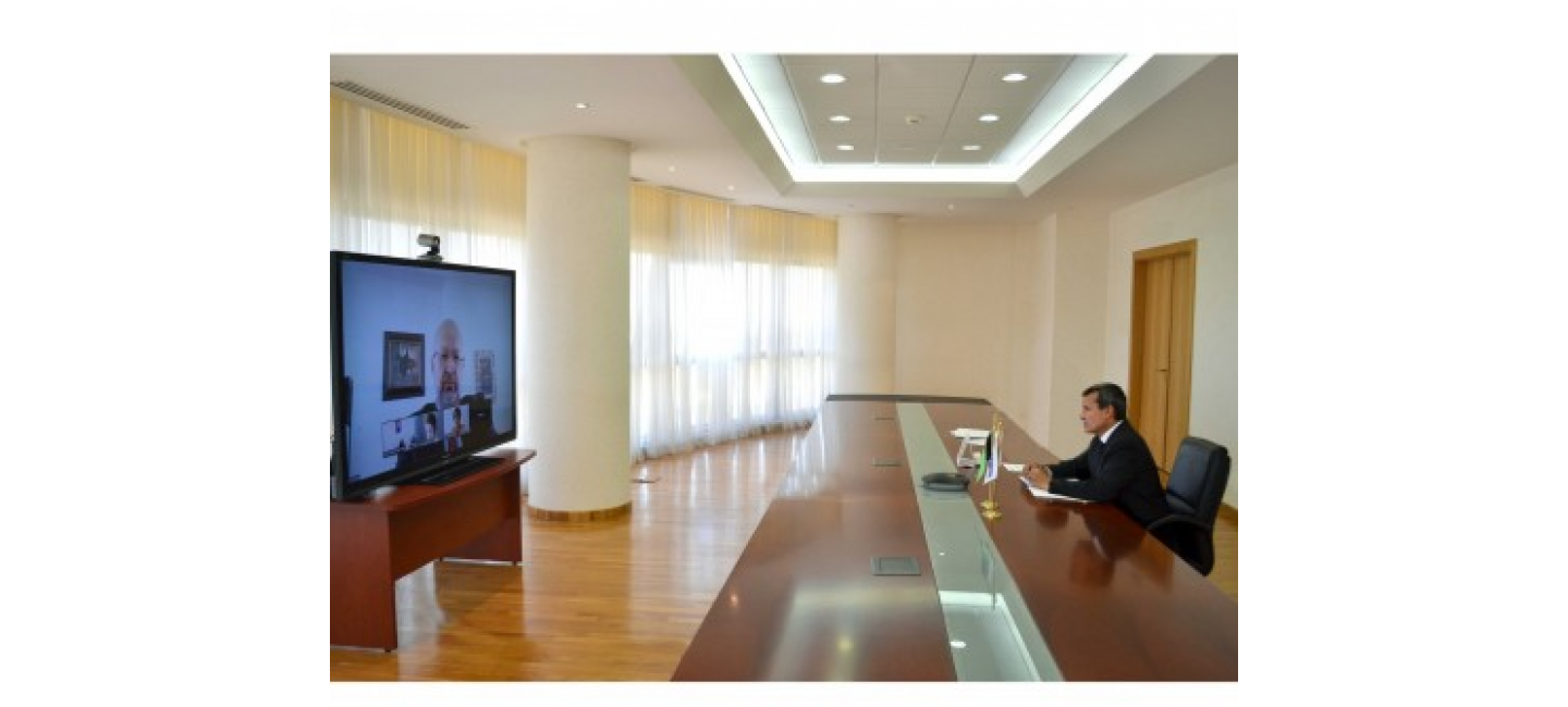 Minister of Foreign Affairs of Turkmenistan met with the OSCE High Commissioner on National Minorities