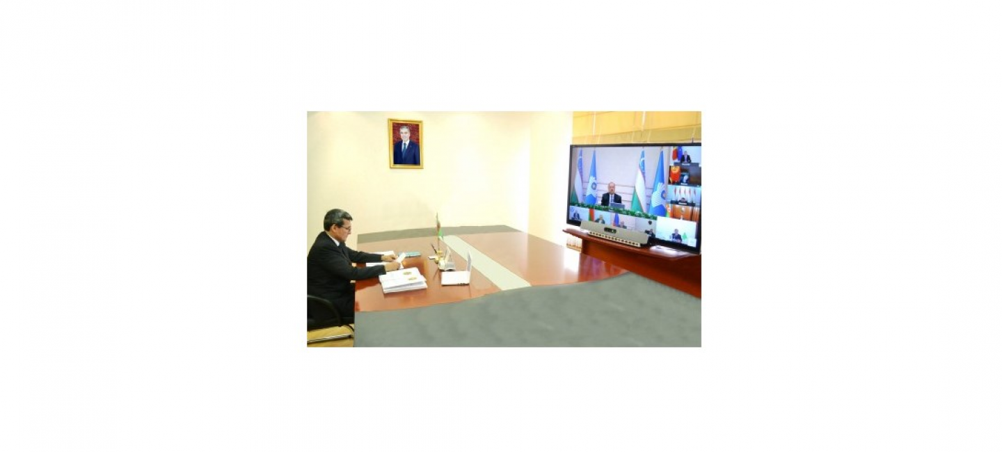A meeting of the Council of the Heads of Governments of the Commonwealth of Independent States was held in videoconference format