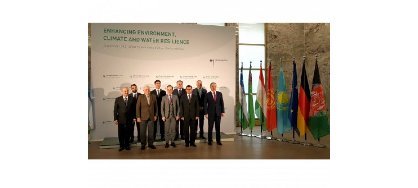 "Delegation of Turkmenistan participated to the high-level Conference ""Green Central Asia"""