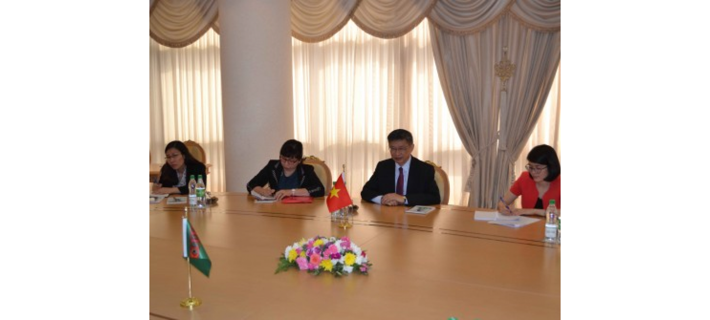 TURKMENISTAN AND VIETNAM AIM TO DEVELOP MULTILATERAL COOPERATION