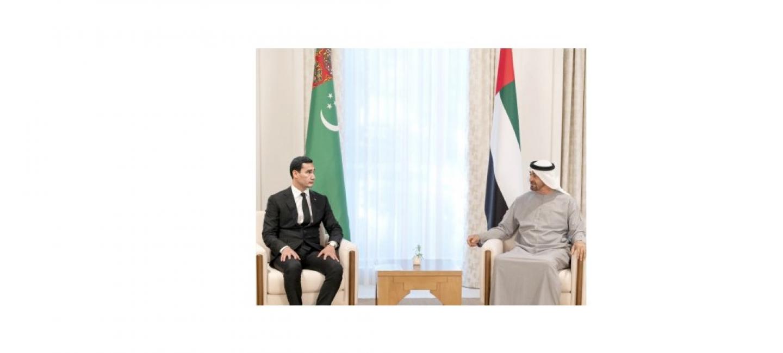 Визит Правительственной делегации Туркменистана в Объединенные Арабские Эмираты