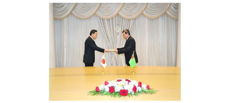 В МИД Туркменистана состоялась встреча с Послом Японии